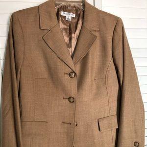 Ladies Pendleton Petite Wool Dress Jacket Size 12
